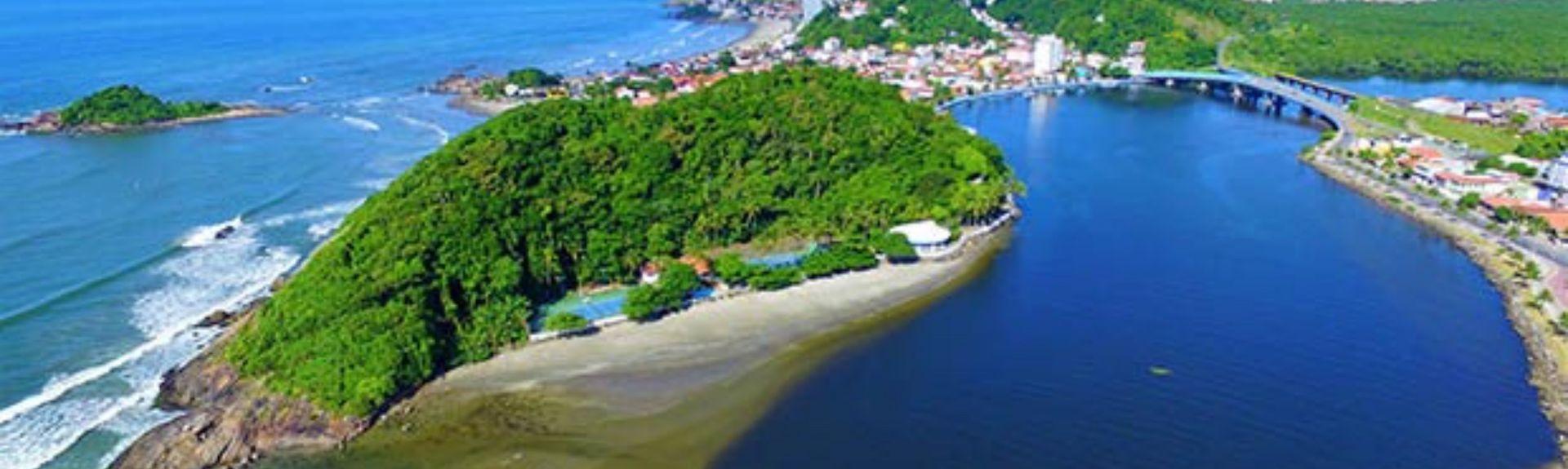 Praia dos Sonhos, Itanhaém, São Paulo (État), Brésil