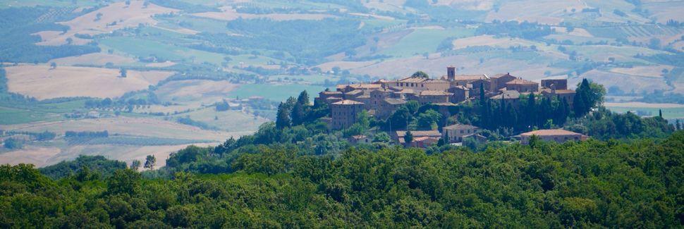 Montalcino, Toscane, Italië