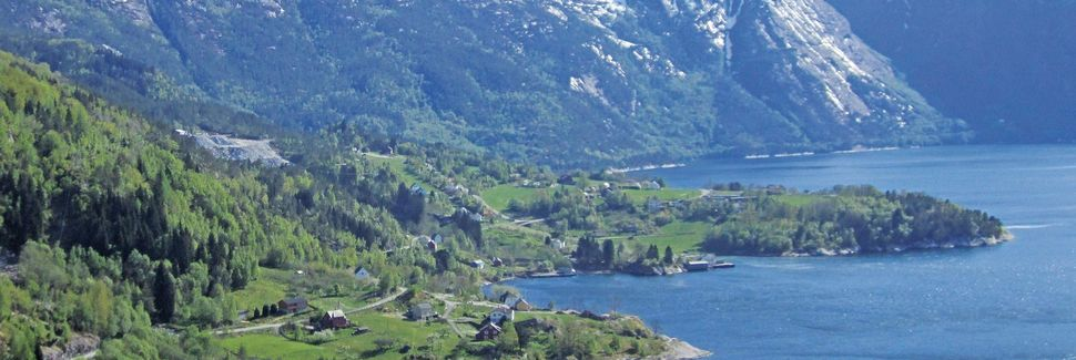 Eikelandsosen, Hordaland, Noruega