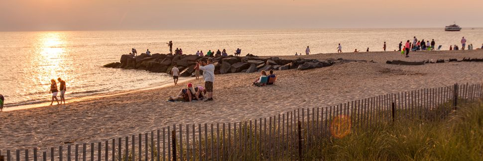 Sunset Beach, Cape May, NJ, USA