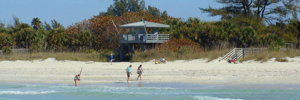 Nokomis Beach (spiaggia), Nokomis, Florida, Stati Uniti d'America