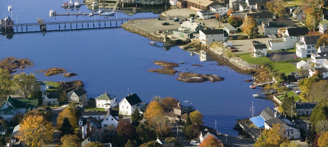 Boothbay Harbor, Maine, États-Unis d'Amérique