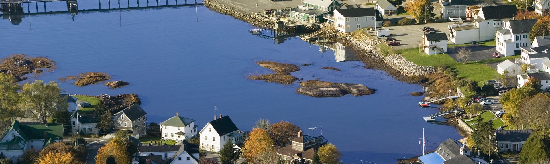 Boothbay Harbor Region, ME, USA