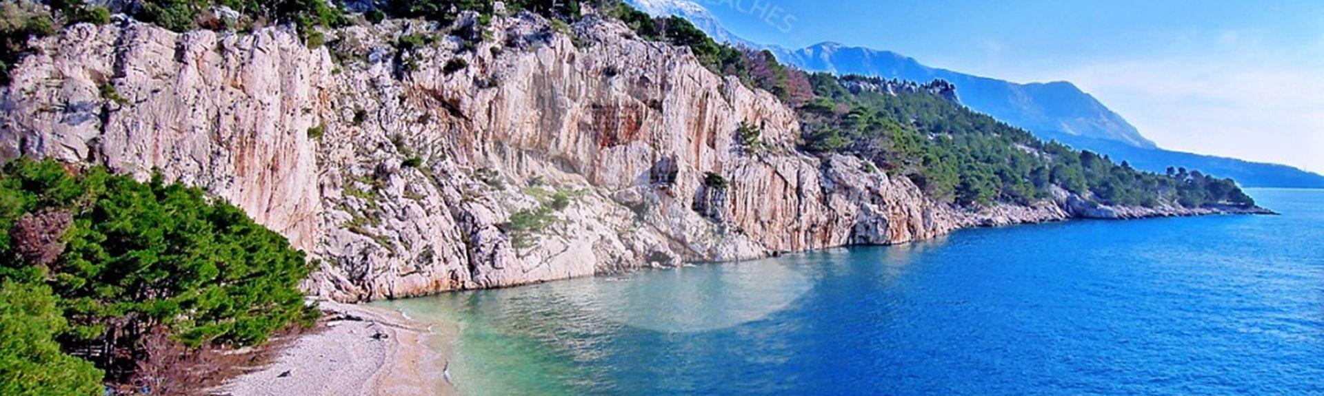 Zelenka, Makarska, Split-Dalmatiens län, Kroatien