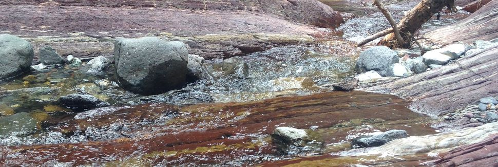 Καταρράκτες Cameron Falls, Waterton Park, Αλπέρτα, Καναδάς