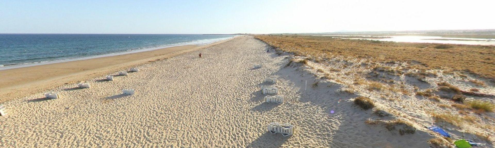 Verde Beach, Castro Marim, Algarve, Portugal