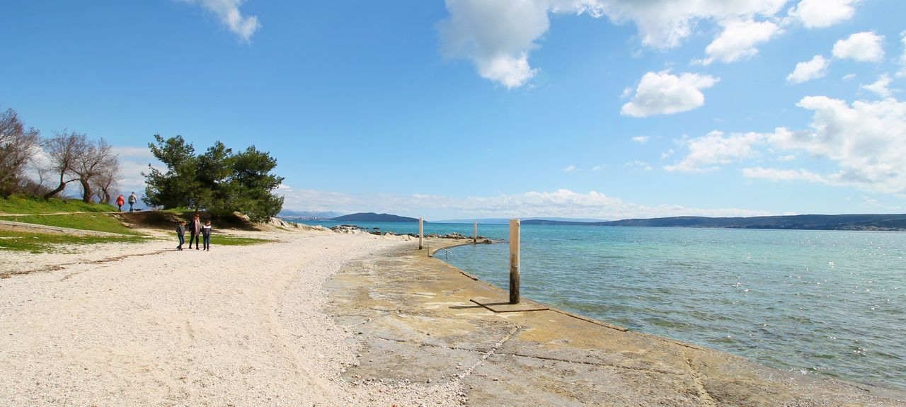 Duce Beach, Duće, Split-Dalmatia County, Croatia