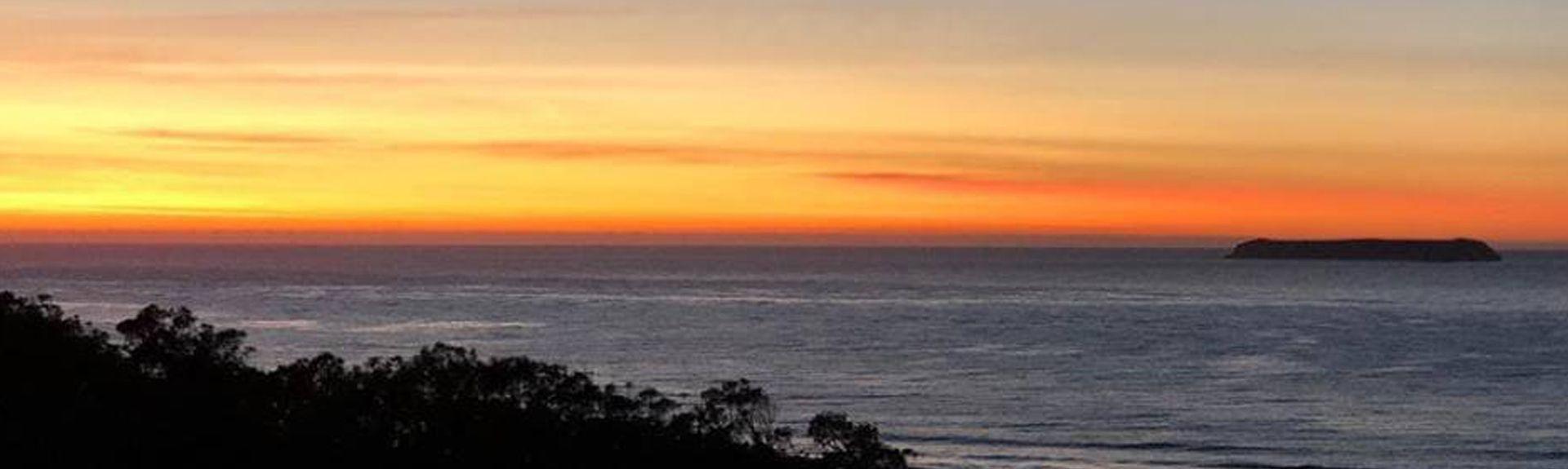 Morro da Cruz, Florianopolis, Santa Catarina, Brasile