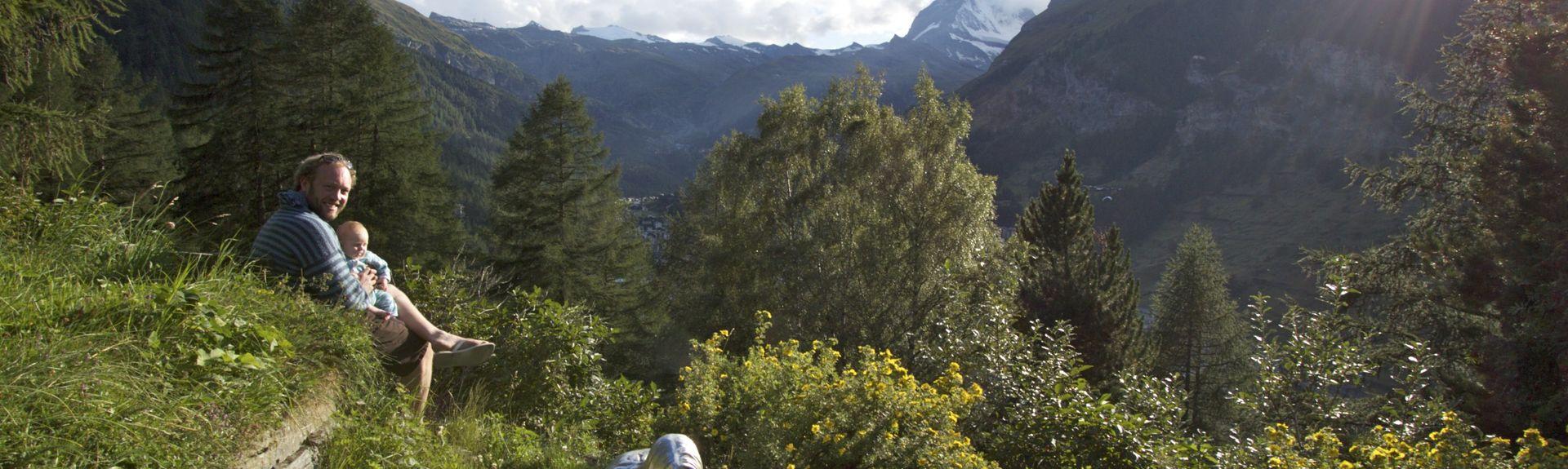 Ayer, Valais, Suisse