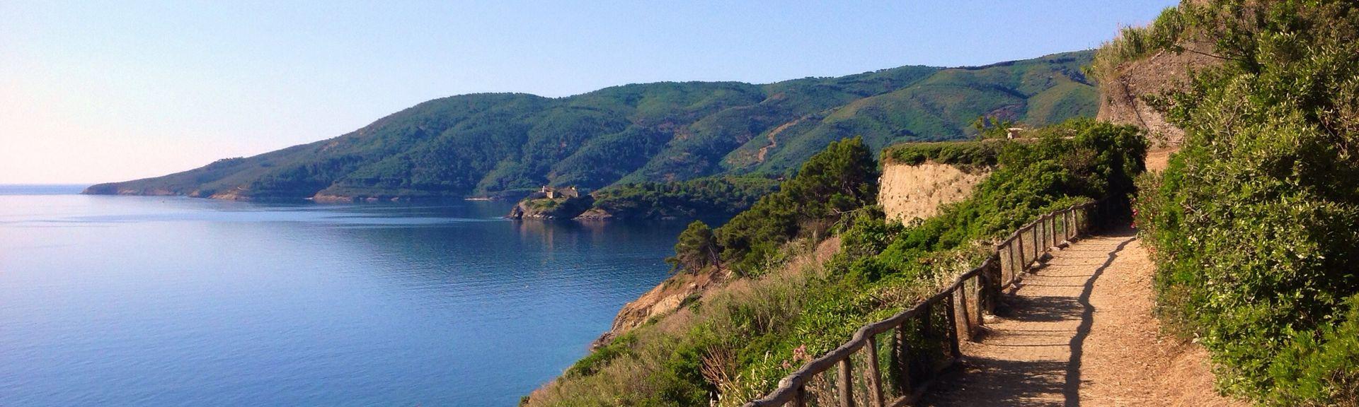 Île d'Elbe, Toscane, Italie