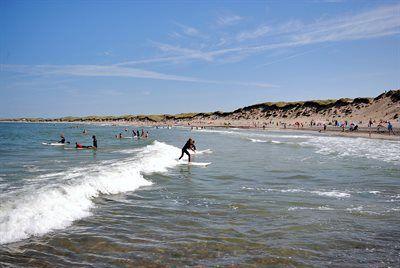 Strand von Klitmøller, Klitmøller, Region Nordjylland, Dänemark