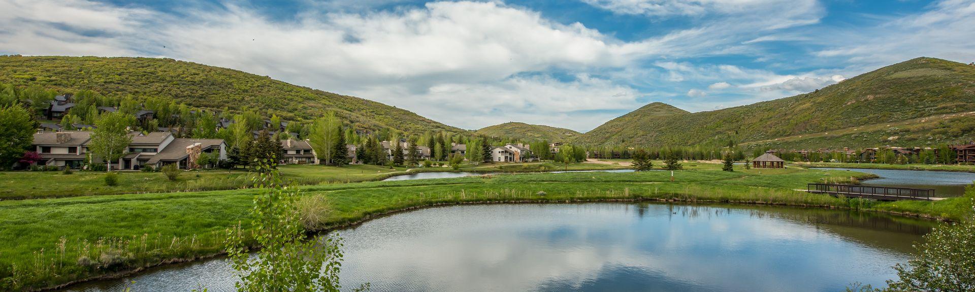 Deer Creek State Park, Heber City, Utah, Verenigde Staten