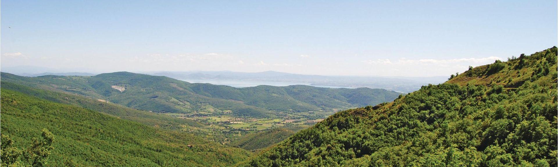 Umbertide, Umbria, Italia