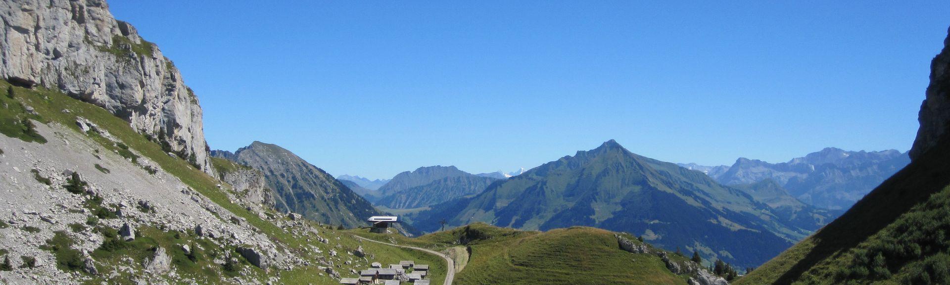 Les Diablerets, Cantón de Vaud, Suiza