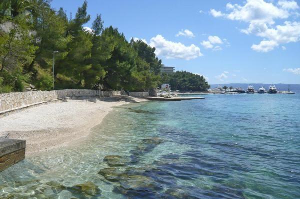 Trogirin satama, Trogir, Split-Dalmatia, Kroatia