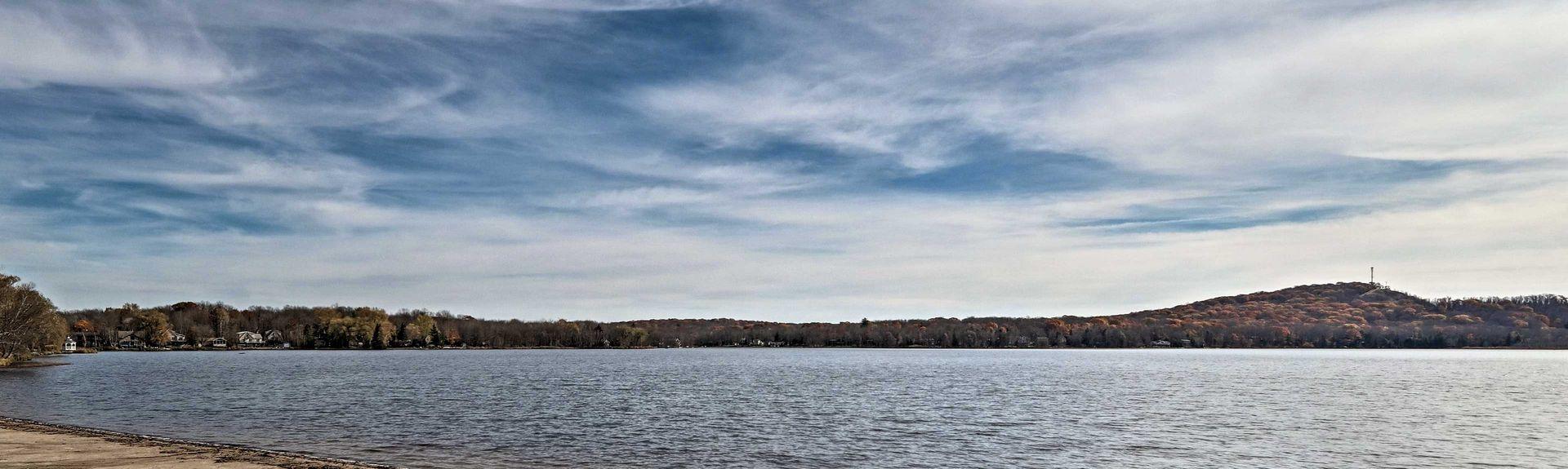 Big Bass Lake, Gouldsboro, Πενσυλβάνια, Ηνωμένες Πολιτείες