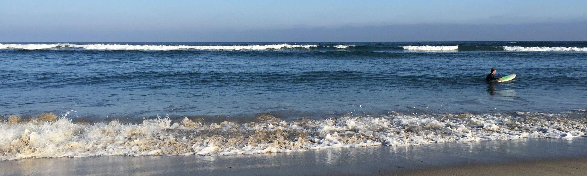 Malibu Lagoon State Beach (Strand), Malibu, Kalifornien, USA