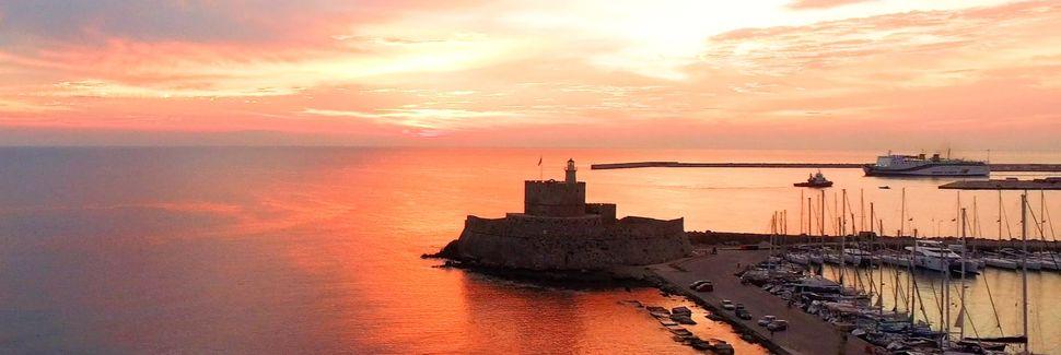 Ακρόπολη της Ρόδου, Νησιά του Αιγαίου, Ελλάδα