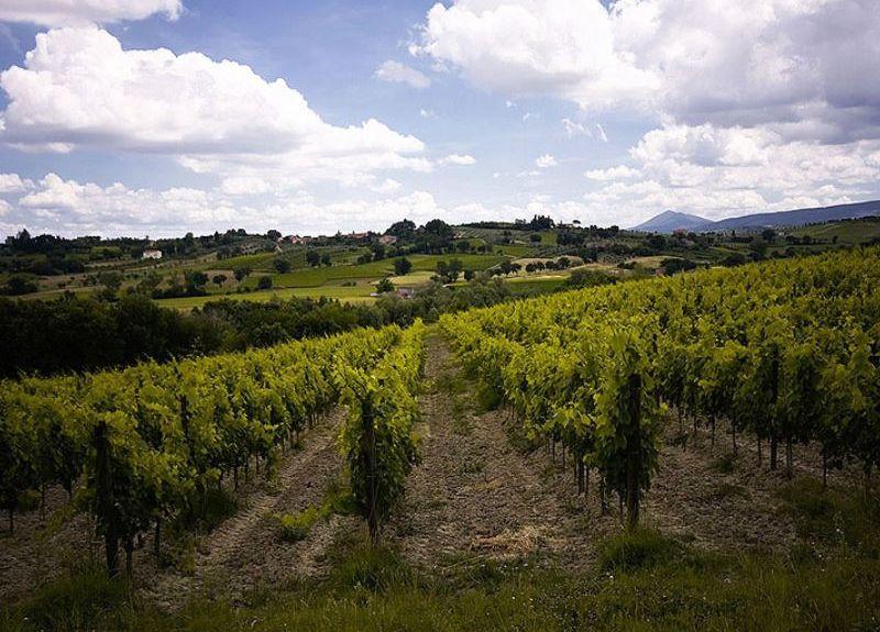 San Quirico d'Orcia, Toscana, Italia