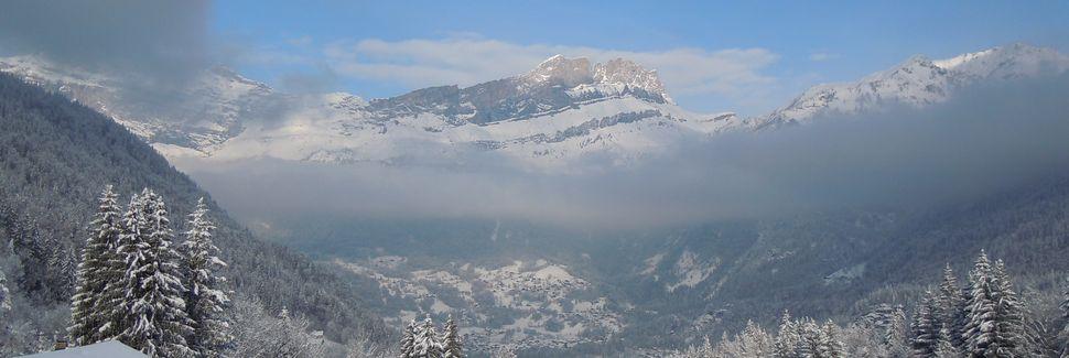 Le Chinaillon, Le Grand-Bornand, Auvernia-Ródano-Alpes, Francia