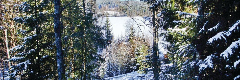 Skigebiet Isaberg, Hestra, Jönköpings län, Schweden