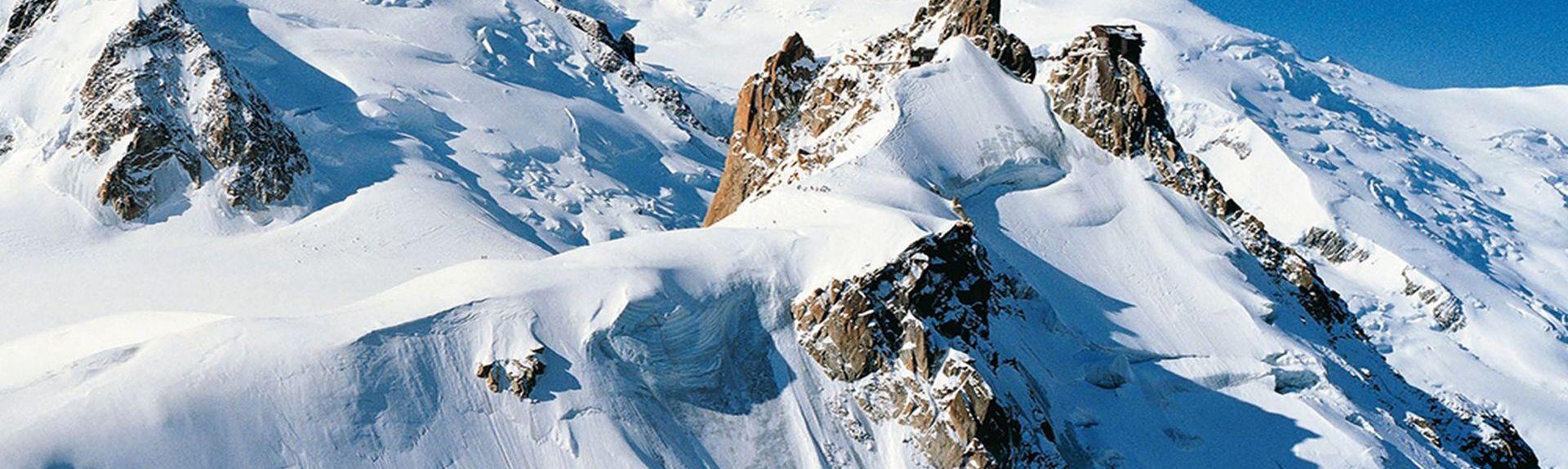Chamonix-Mont-Blanc Les Tines Station, France