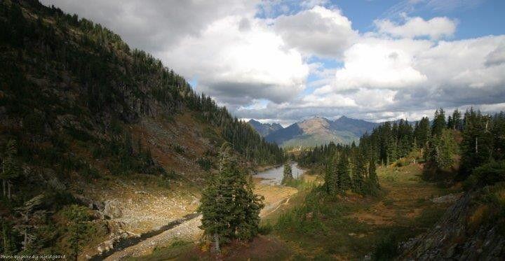 Mt. Baker Rim, Glacier, WA, USA