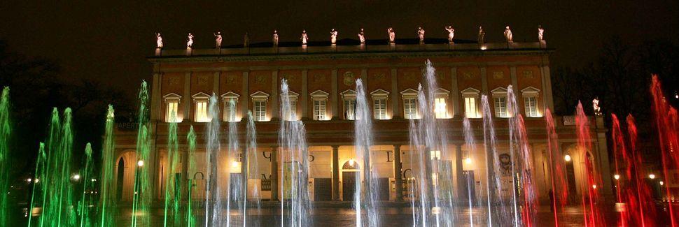 Palazzo della Pilotta, Parma, Émilie-Romagne, Italie