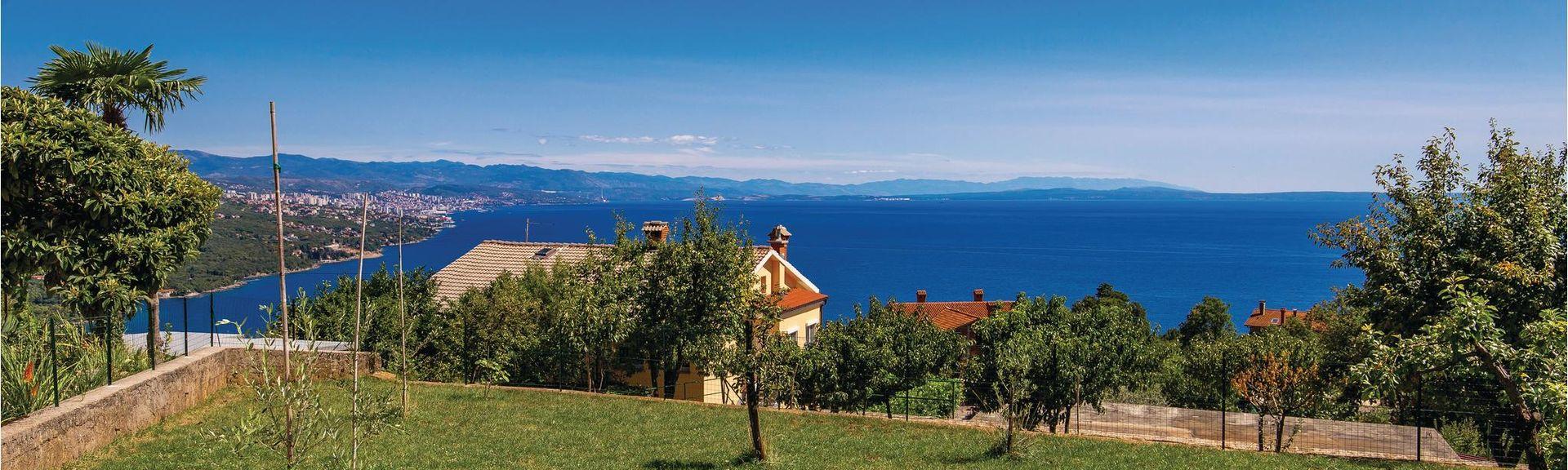 Opatija Riviera, Istria, Croatia