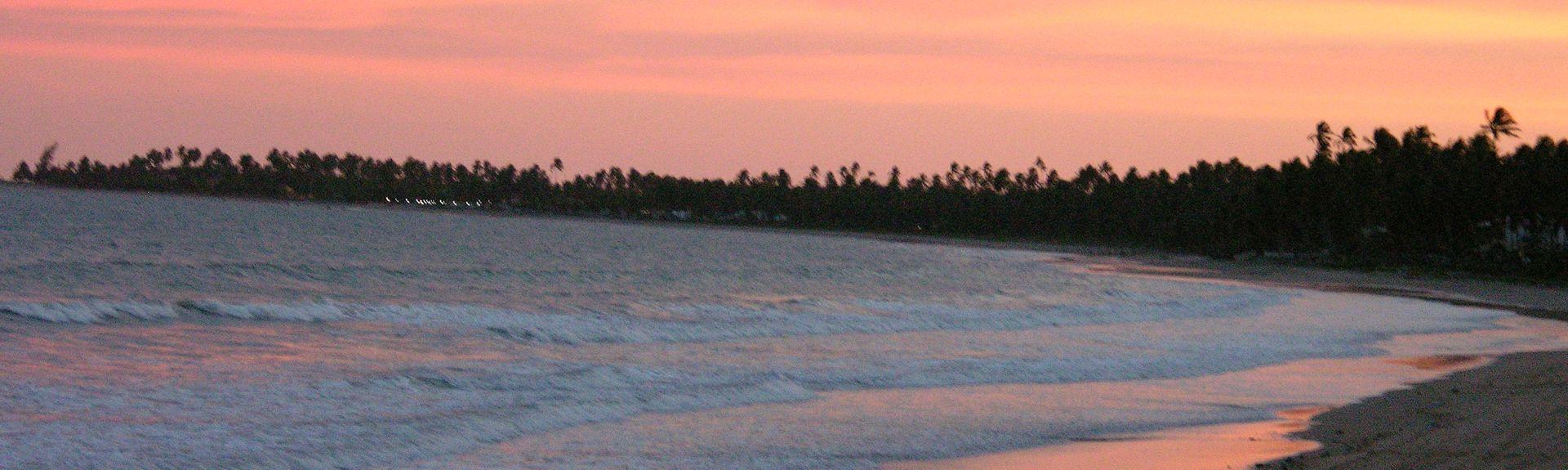 Coroa Grande-stranden, Sao Jose da Coroa Grande, Nordøst-regionen, Brasil