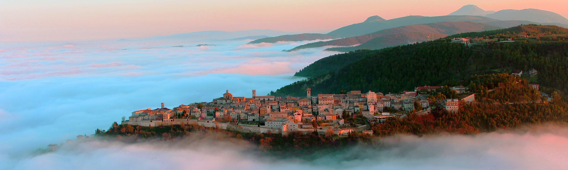 Castelplanio, Marche, Italien