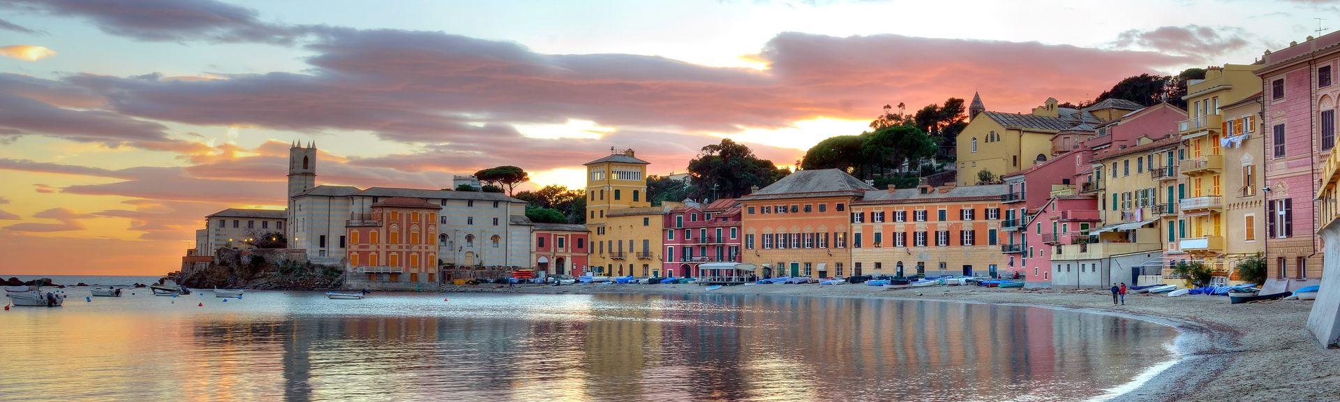 Sestri Levante, Ligurien, Italien