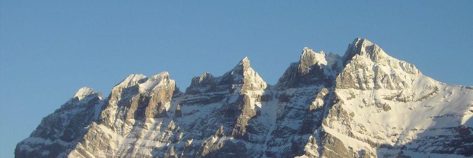 Val d'Illiez, Valais, Schweiz