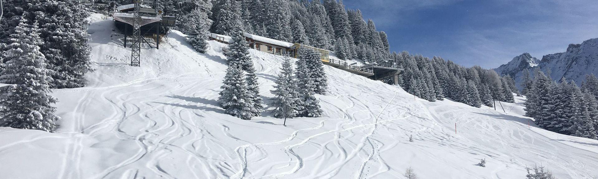 Brämabüel, Davos, Graubuenden, Switzerland