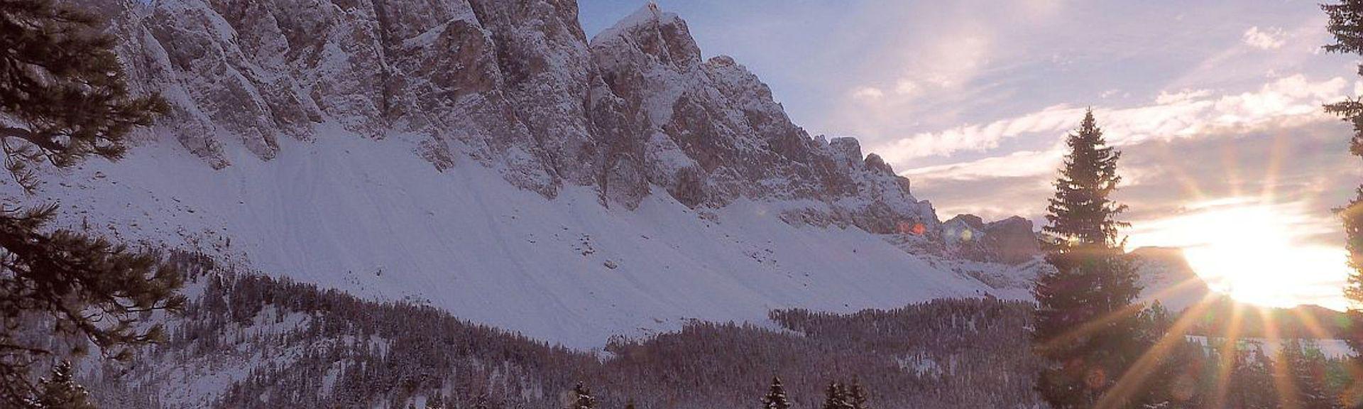 Serrai von Sottoguda, Rocca Pietore, Veneto, Italien
