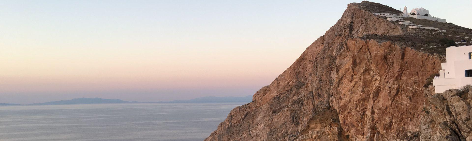 Folégandros, Les îles Égéennes, Grèce