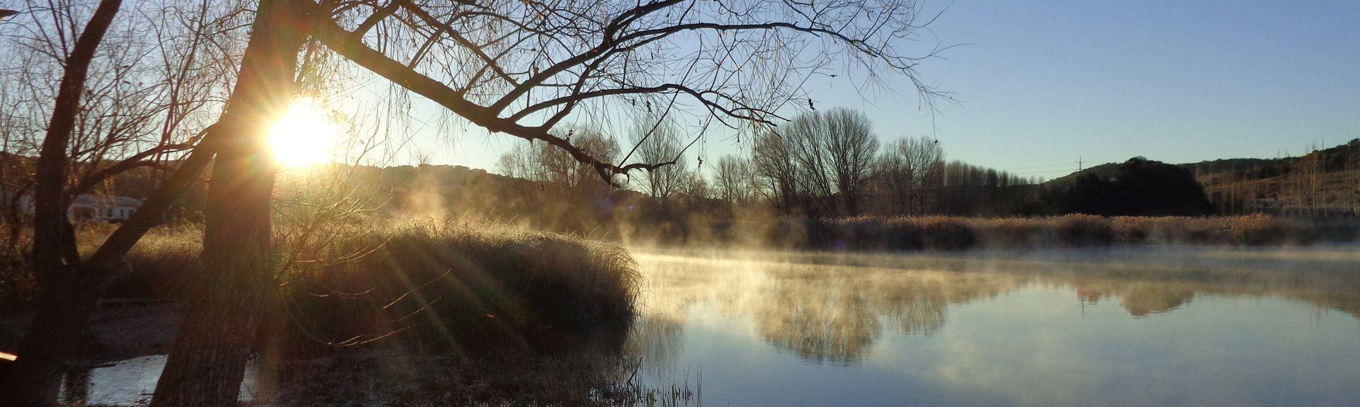 Parque natural de las Lagunas de Ruidera, Castilla-La Mancha, España