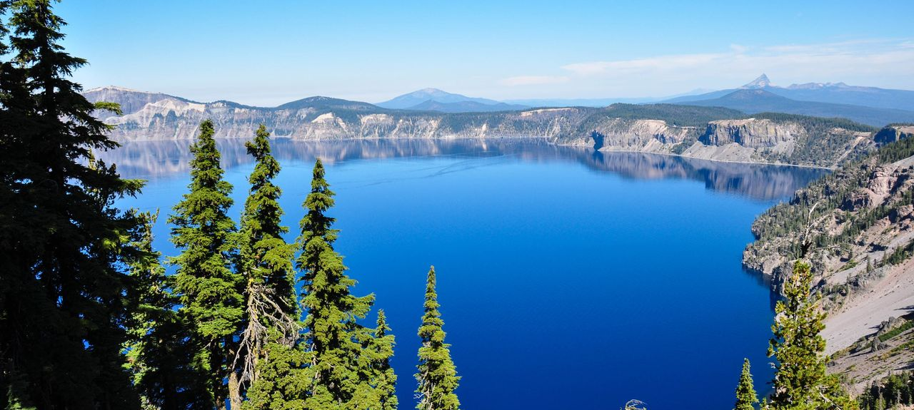 Crater Lake National Park Oregon Usa