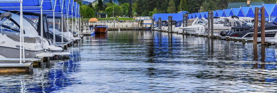 Lake Coeur d'Alene, Harrison, Idaho, Estados Unidos