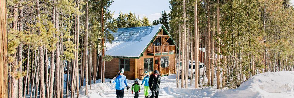 Station de ski de Superdévoluy, Le Dévoluy, PACA, France