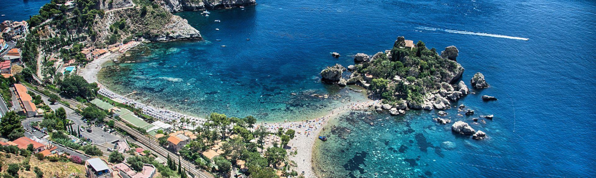 Taormina, Sisilia, Italia