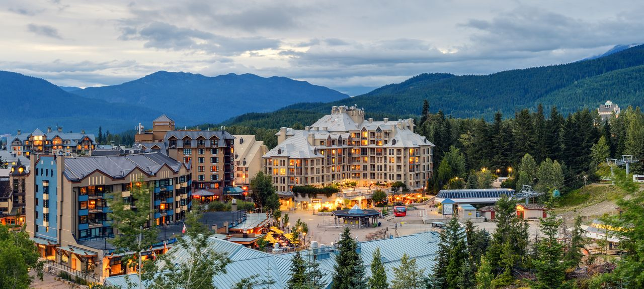Upper Village, Whistler, BC, Canada