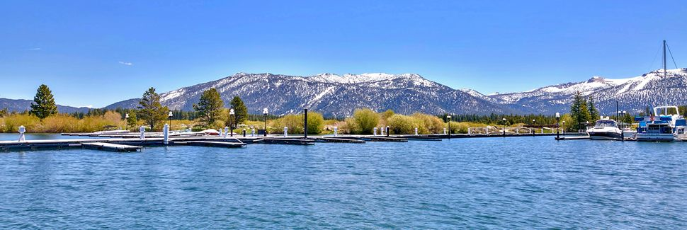 Tahoe Island, South Lake Tahoe, Kalifornien, USA