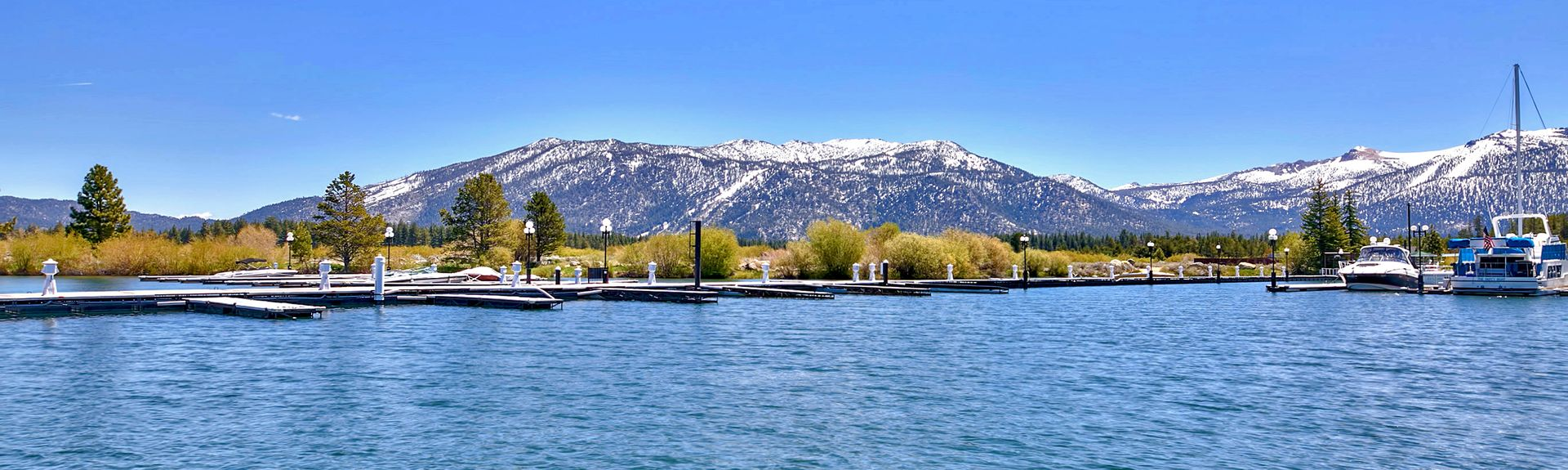Tahoe Island, South Lake Tahoe, Californien, USA