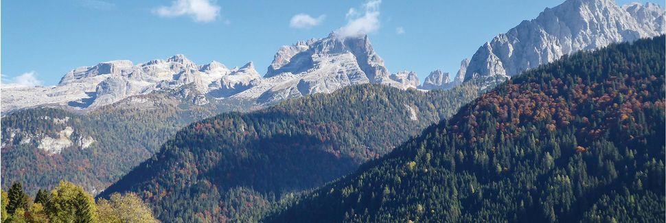 Brocon Pass, Castello Tesino, Trentino, Italy