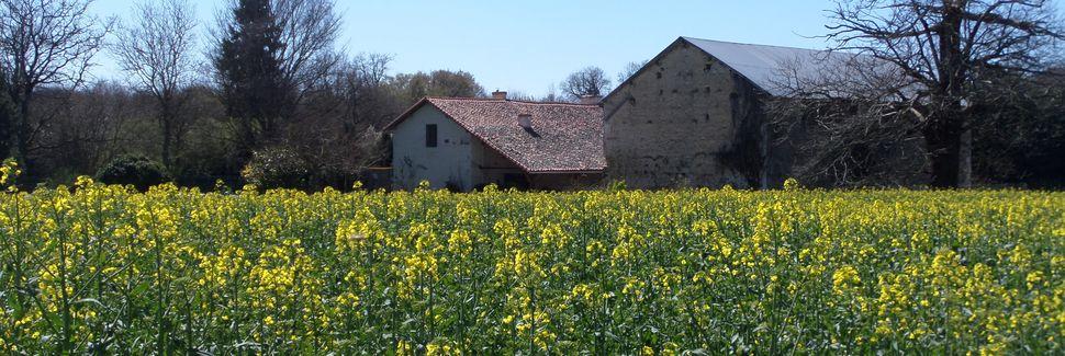 Ligugén asema, Liguge, Aquitaine-Limousin-Poitou-Charentes, Ranska