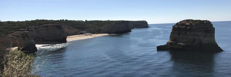 Praia dos Três Castelos, Distrito de Faro, Portugal
