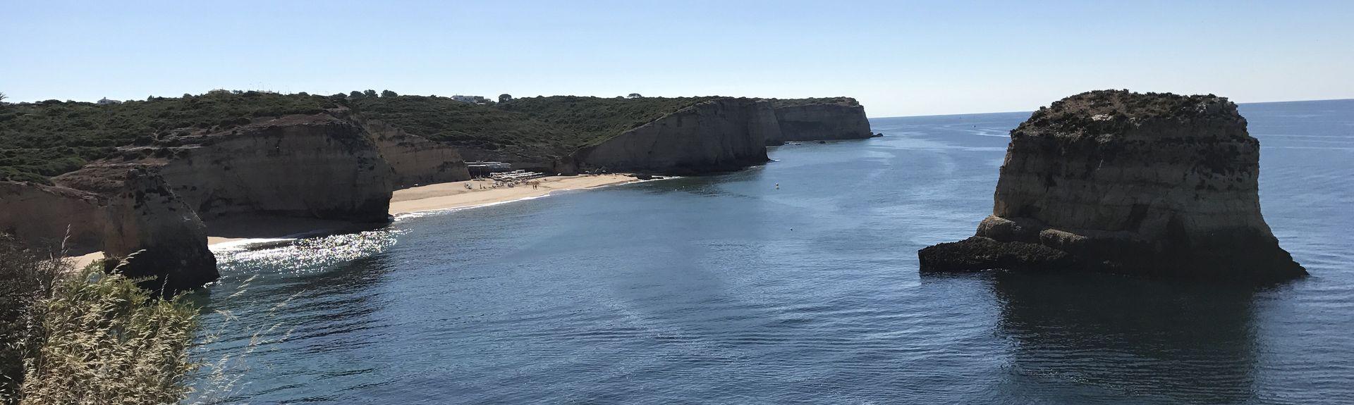 Três Castelosin ranta, Faron piiri, Portugali