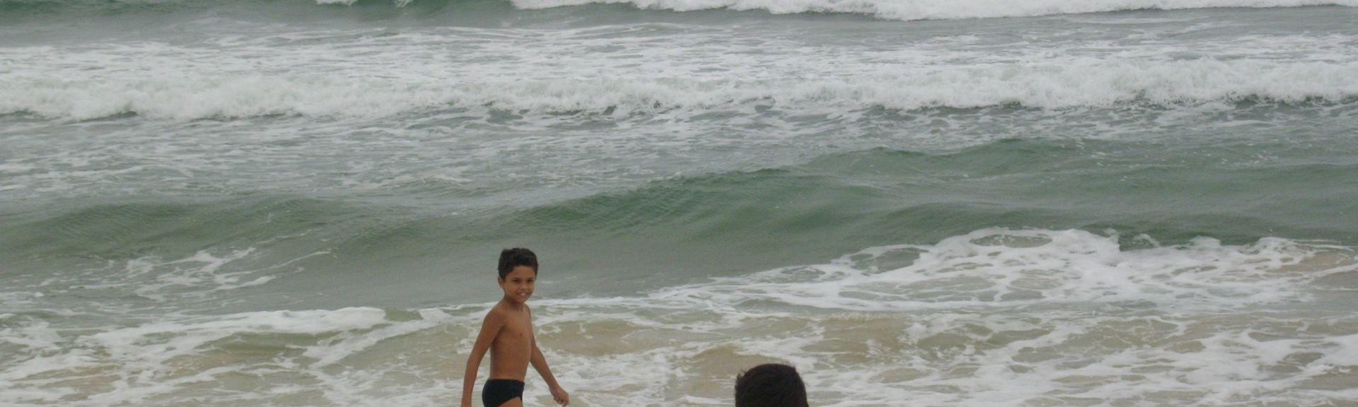 Praia do Estaleiro, Balneário Camboriú, Santa Catarina, Brasil