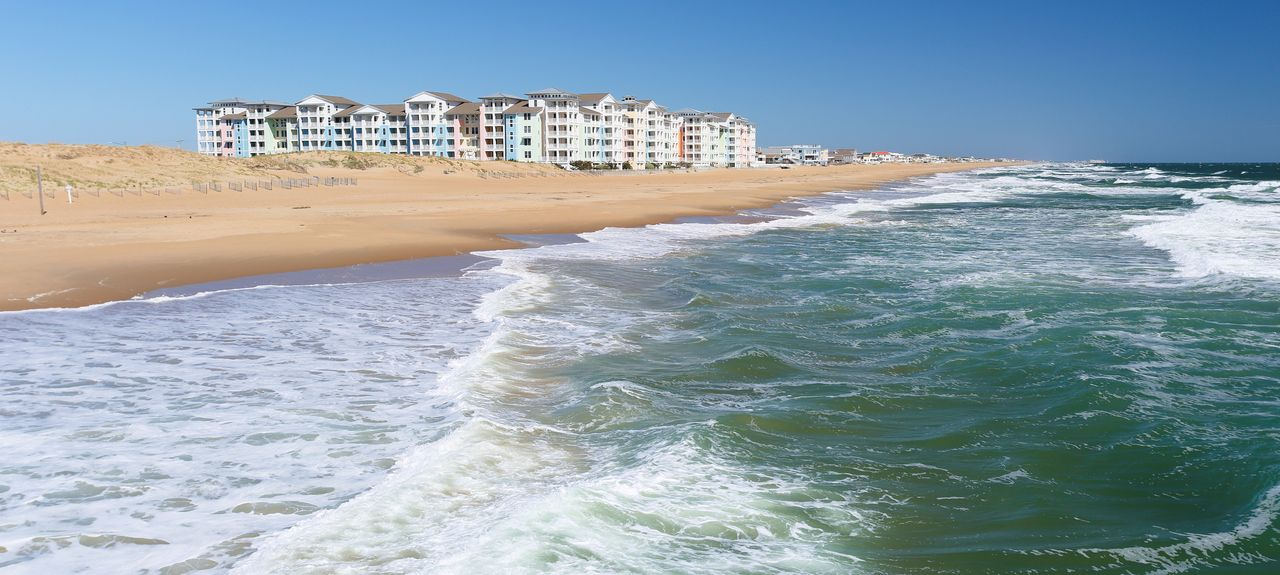 Sandbridge Beach, Virginia Beach, VA, USA